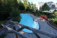 Oasis Fiberglass Pool in Rocky Ford, CO